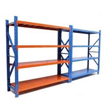 4 Layer Heavy Duty Adjustable Stainless Steel Pipe Shelving Rack Warehouse Storage Rack