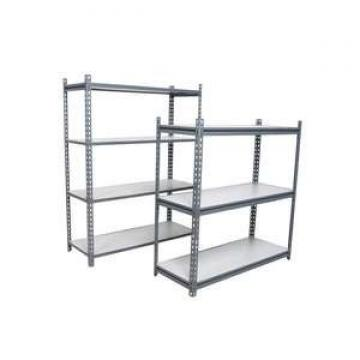 Small corner galvanized slotted angle boltless rivet shelving with Z beam