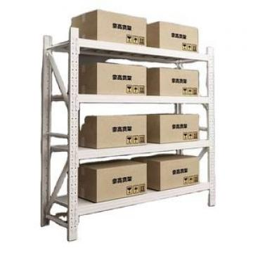 High standard metal fabrication service powder coated steel metal storage rack