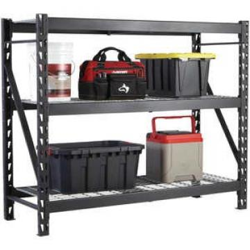 Quality and quantity assured metal storage rack