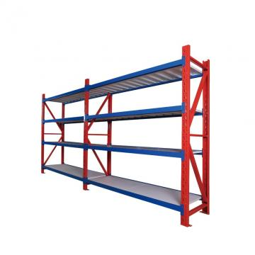 Galvanized steel sheet 4 tier straight storage rack shelving Unit shelving Unit for warehouse