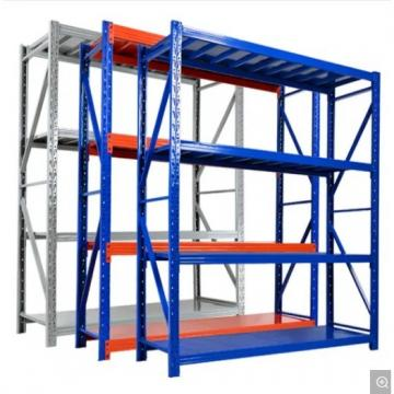 Custom metal steel shelves for aluminum profile transportation and storage